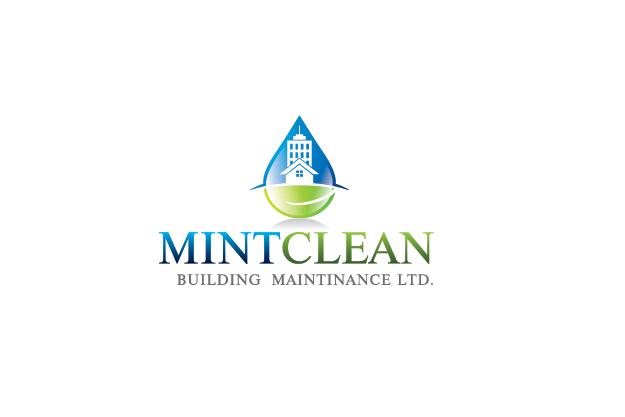 Logo Design by Digital Designs - Entry No. 160 in the Logo Design Contest MintClean Building Maintenance Ltd. Logo Design.