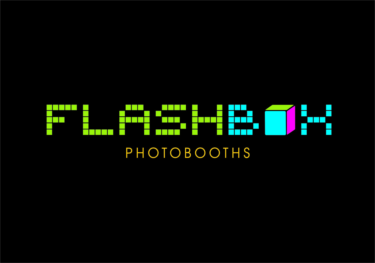 Logo Design by RasYa Muhammad Athaya - Entry No. 176 in the Logo Design Contest New Logo Design for FlashBox Photobooths.
