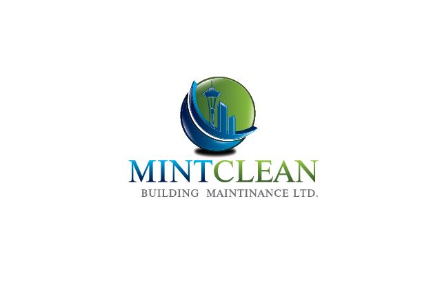 Logo Design by Digital Designs - Entry No. 161 in the Logo Design Contest MintClean Building Maintenance Ltd. Logo Design.
