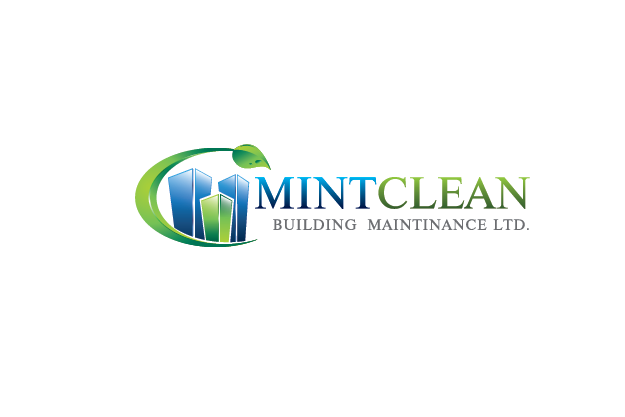 Logo Design by Digital Designs - Entry No. 162 in the Logo Design Contest MintClean Building Maintenance Ltd. Logo Design.
