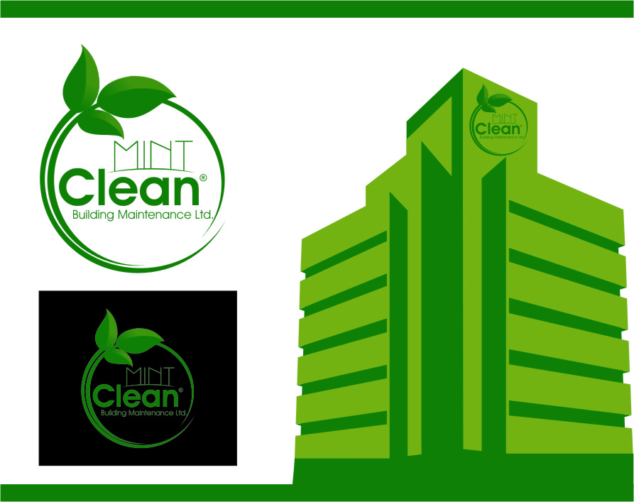 Logo Design by RasYa Muhammad Athaya - Entry No. 163 in the Logo Design Contest MintClean Building Maintenance Ltd. Logo Design.