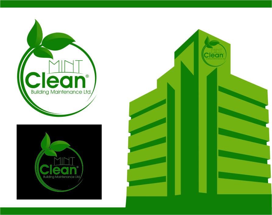 Logo Design by Ngepet_art - Entry No. 163 in the Logo Design Contest MintClean Building Maintenance Ltd. Logo Design.