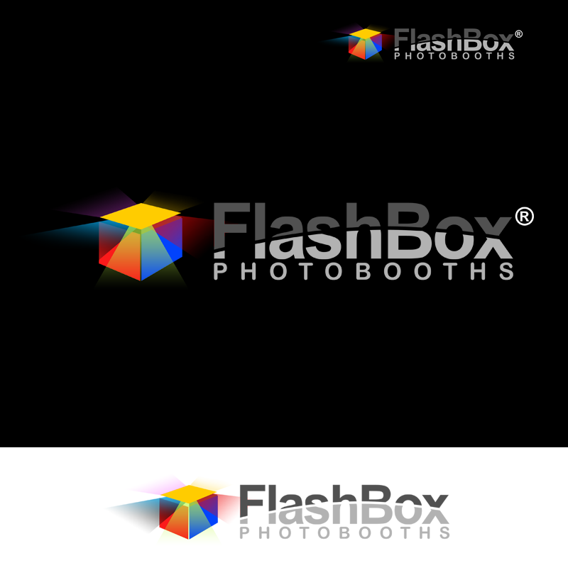 Logo Design by Robert Turla - Entry No. 178 in the Logo Design Contest New Logo Design for FlashBox Photobooths.