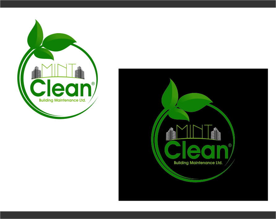 Logo Design by RasYa Muhammad Athaya - Entry No. 165 in the Logo Design Contest MintClean Building Maintenance Ltd. Logo Design.