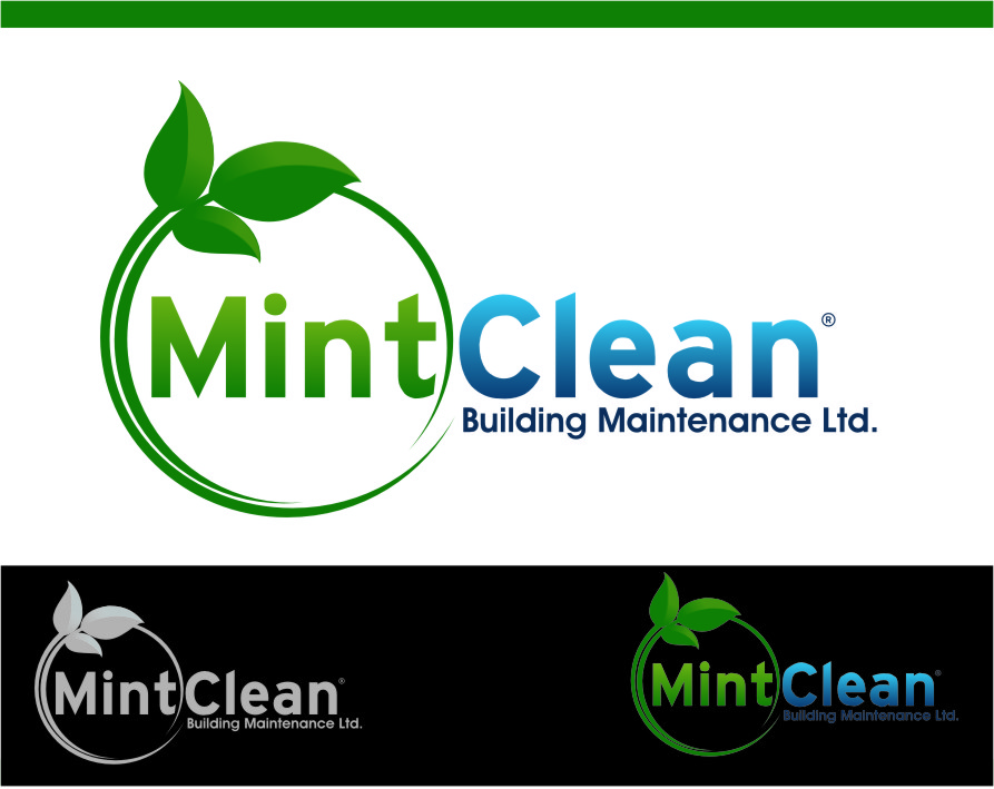 Logo Design by Ngepet_art - Entry No. 167 in the Logo Design Contest MintClean Building Maintenance Ltd. Logo Design.