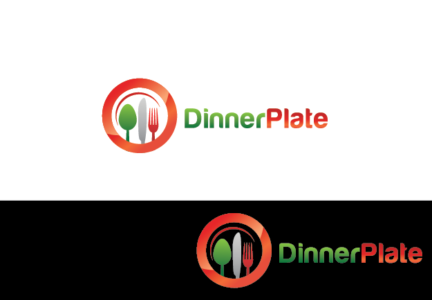 Logo Design by Private User - Entry No. 5 in the Logo Design Contest Imaginative Logo Design for Dinner Plate.