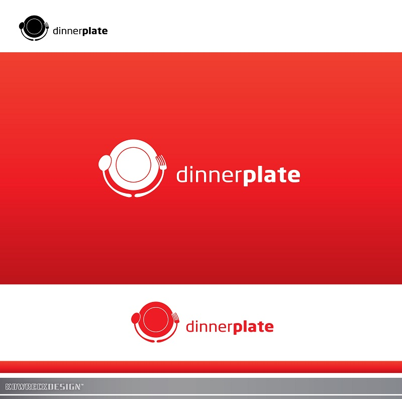 Logo Design by kowreck - Entry No. 7 in the Logo Design Contest Imaginative Logo Design for Dinner Plate.