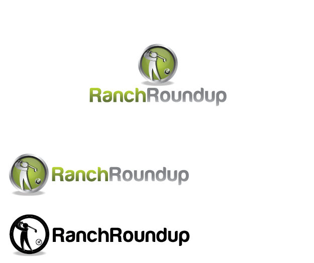 Logo Design by Digital Designs - Entry No. 2 in the Logo Design Contest Captivating Logo Design for Ranch Roundup.