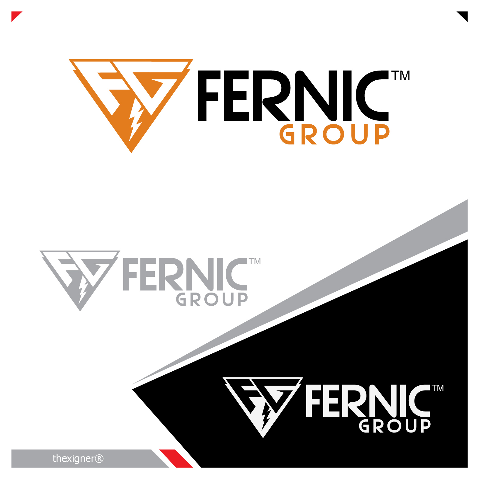 Logo Design by lagalag - Entry No. 4 in the Logo Design Contest Artistic Logo Design for Fernic Goup.