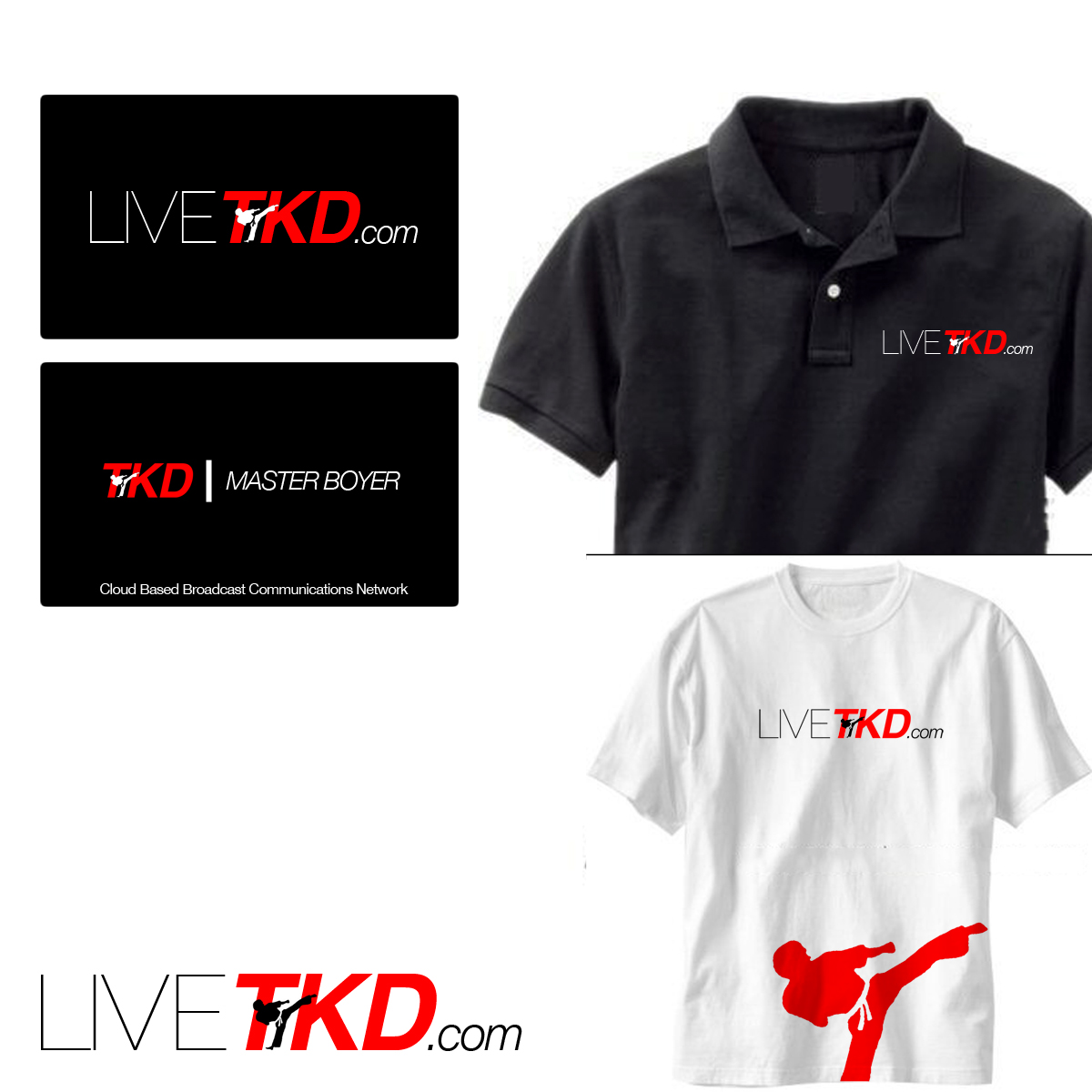 Logo Design by Utkarsh Bhandari - Entry No. 34 in the Logo Design Contest New Logo Design for LiveTKD.com.
