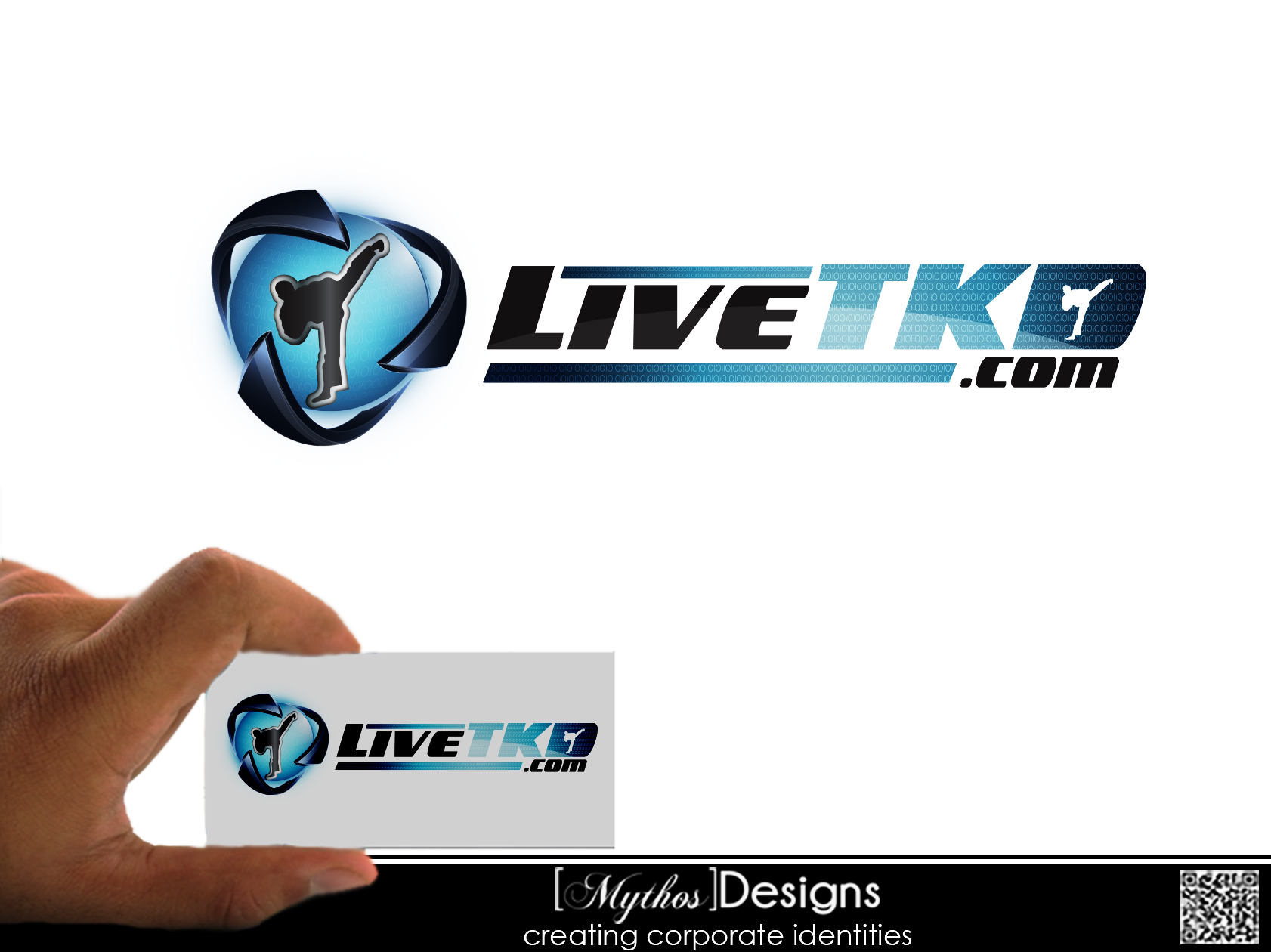 Logo Design by Mythos Designs - Entry No. 37 in the Logo Design Contest New Logo Design for LiveTKD.com.