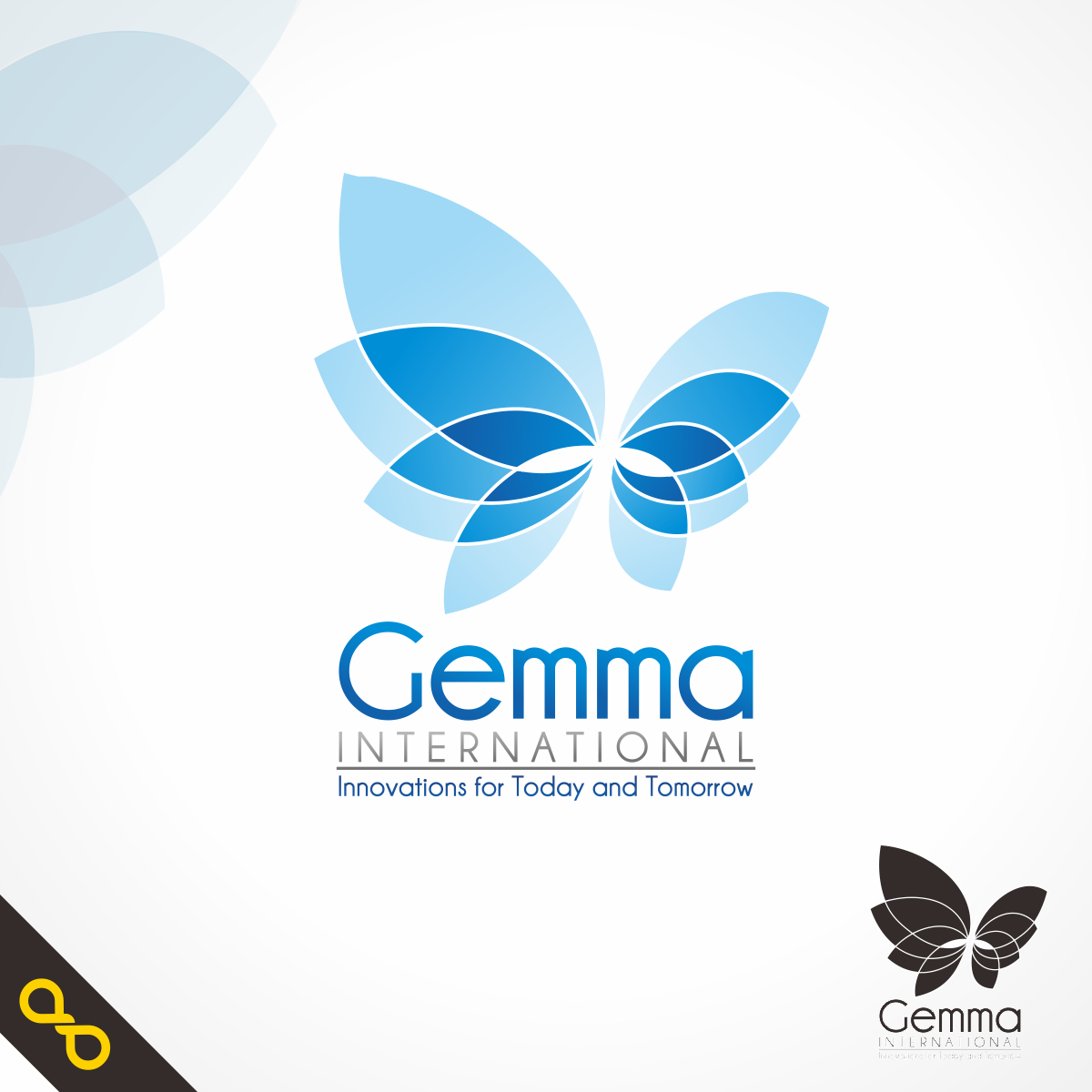 Logo Design by PJD - Entry No. 16 in the Logo Design Contest Artistic Logo Design for Gemma International.