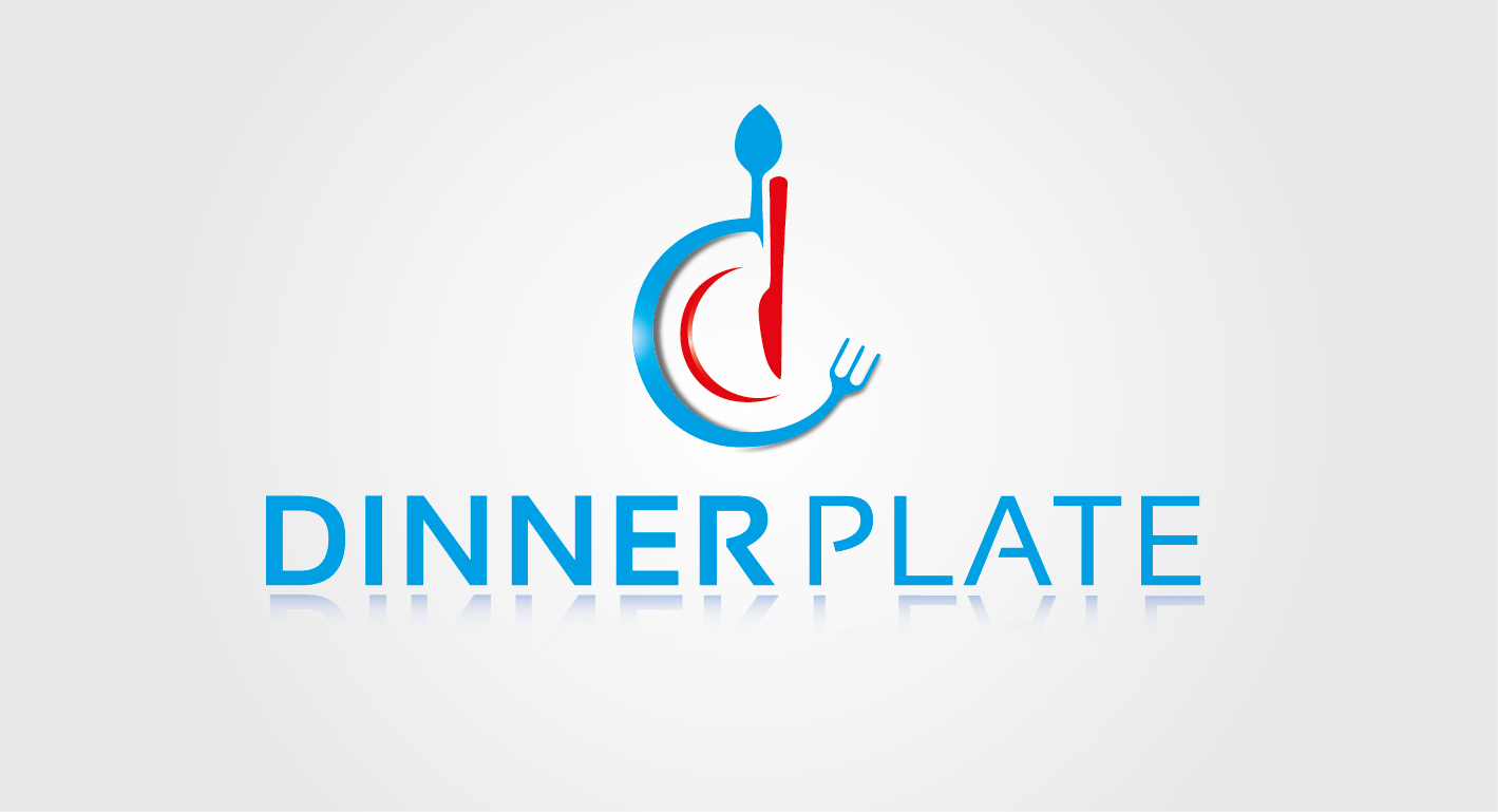 Logo Design by VENTSISLAV KOVACHEV - Entry No. 12 in the Logo Design Contest Imaginative Logo Design for Dinner Plate.
