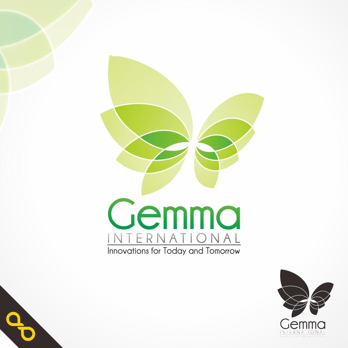 Logo Design by PJD - Entry No. 20 in the Logo Design Contest Artistic Logo Design for Gemma International.