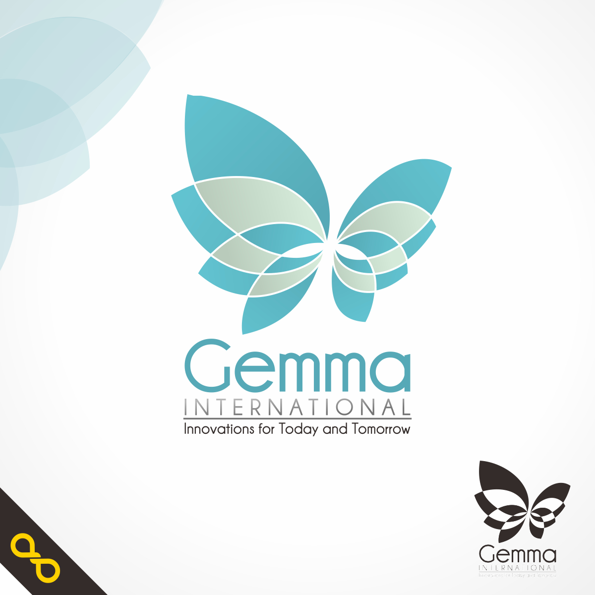 Logo Design by PJD - Entry No. 21 in the Logo Design Contest Artistic Logo Design for Gemma International.