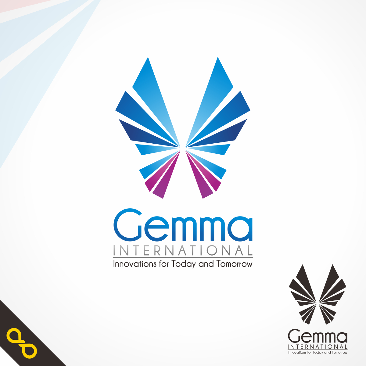 Logo Design by PJD - Entry No. 23 in the Logo Design Contest Artistic Logo Design for Gemma International.