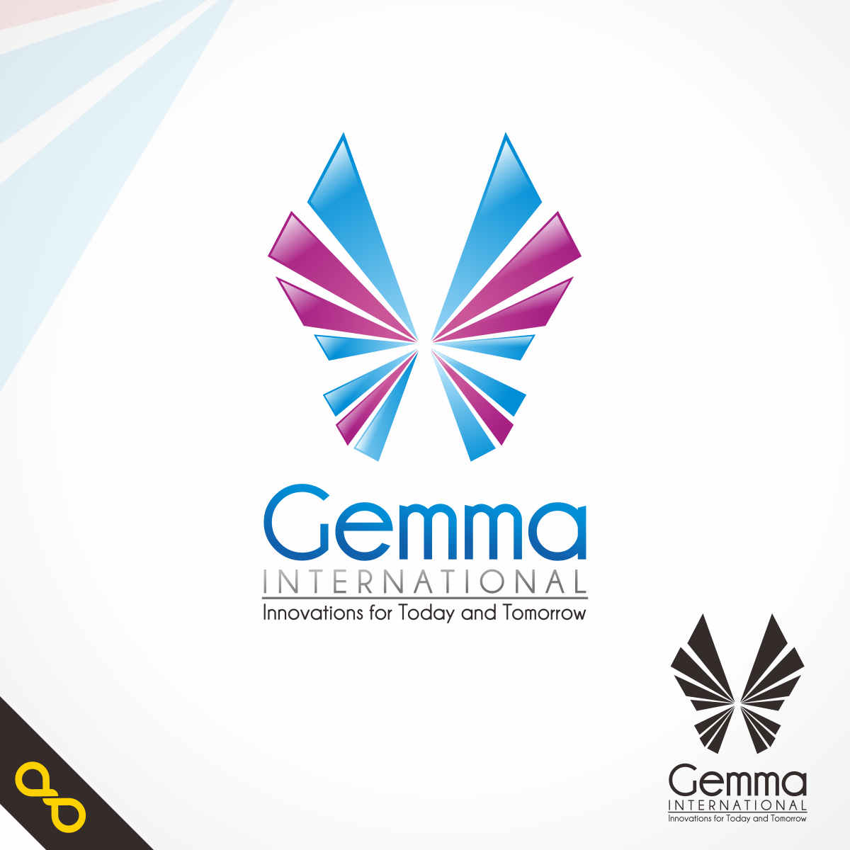 Logo Design by PJD - Entry No. 26 in the Logo Design Contest Artistic Logo Design for Gemma International.