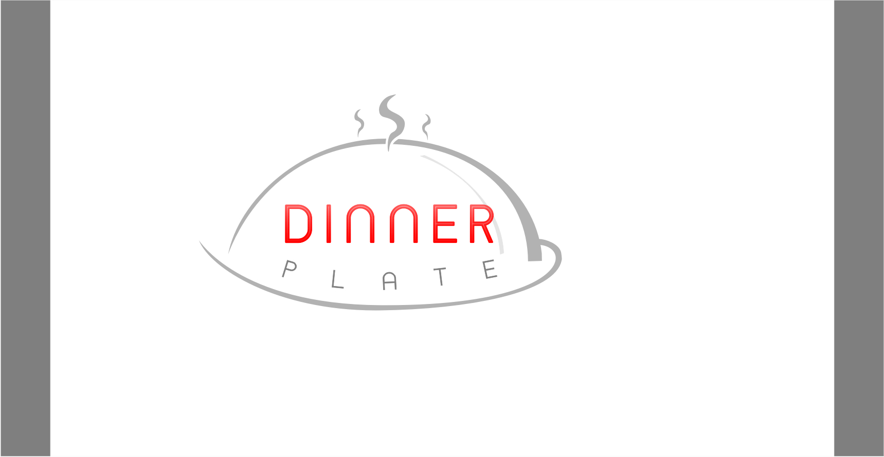 Logo Design by Shailender Kumar - Entry No. 17 in the Logo Design Contest Imaginative Logo Design for Dinner Plate.