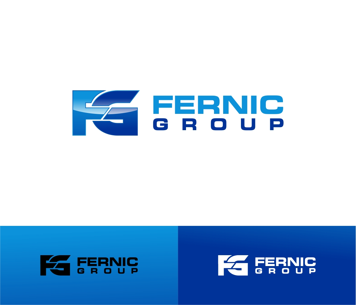 Logo Design by haidu - Entry No. 12 in the Logo Design Contest Artistic Logo Design for Fernic Goup.