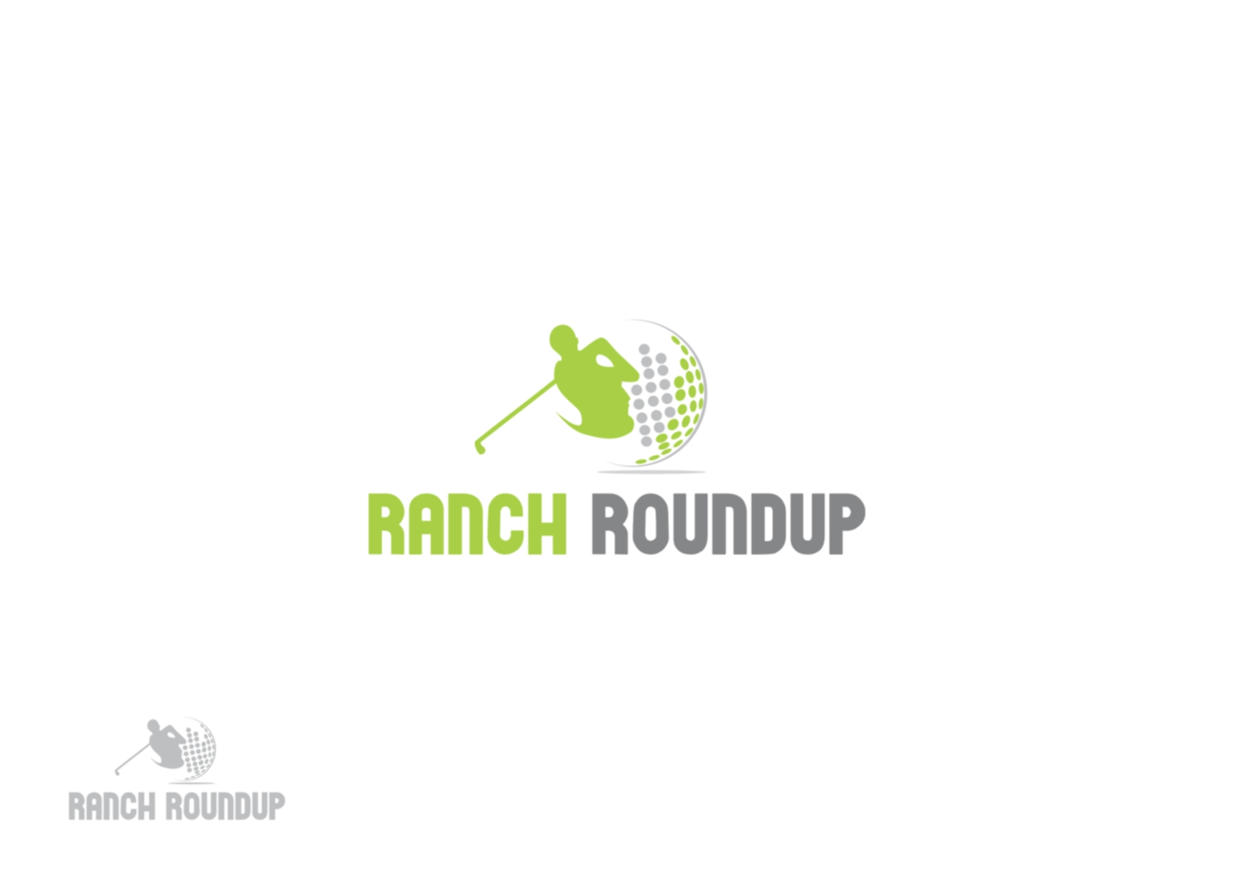 Logo Design by Private User - Entry No. 7 in the Logo Design Contest Captivating Logo Design for Ranch Roundup.