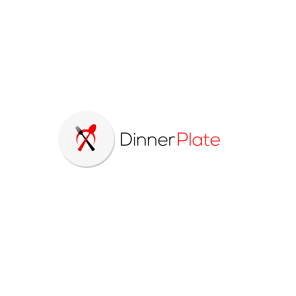 Logo Design by Bobby Yoga P - Entry No. 22 in the Logo Design Contest Imaginative Logo Design for Dinner Plate.