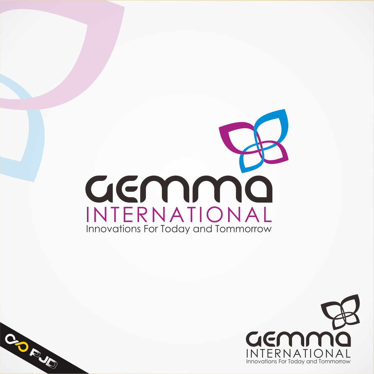 Logo Design by PJD - Entry No. 38 in the Logo Design Contest Artistic Logo Design for Gemma International.