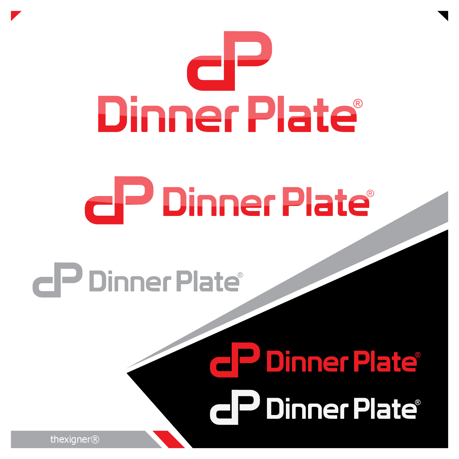 Logo Design by lagalag - Entry No. 25 in the Logo Design Contest Imaginative Logo Design for Dinner Plate.