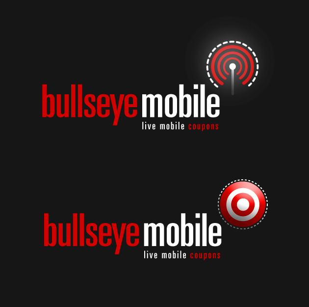 Logo Design by excitation - Entry No. 75 in the Logo Design Contest Bullseye Mobile.