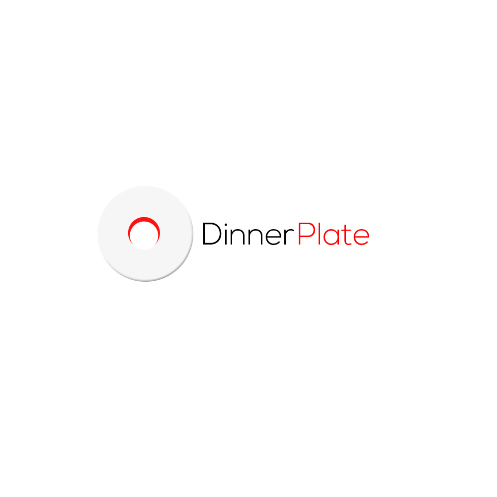 Logo Design by Bobby Yoga P - Entry No. 32 in the Logo Design Contest Imaginative Logo Design for Dinner Plate.