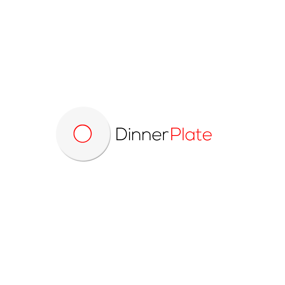 Logo Design by Bobby Yoga P - Entry No. 33 in the Logo Design Contest Imaginative Logo Design for Dinner Plate.