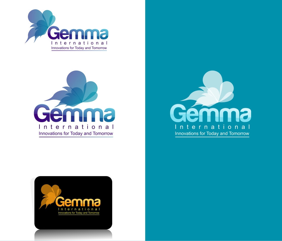 Logo Design by Private User - Entry No. 43 in the Logo Design Contest Artistic Logo Design for Gemma International.