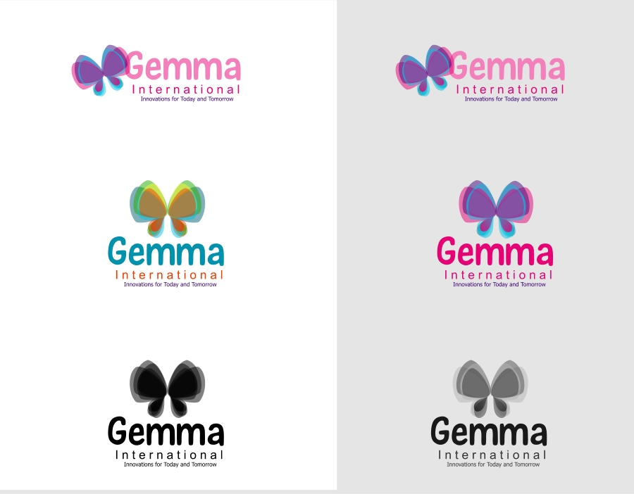 Logo Design by Private User - Entry No. 45 in the Logo Design Contest Artistic Logo Design for Gemma International.