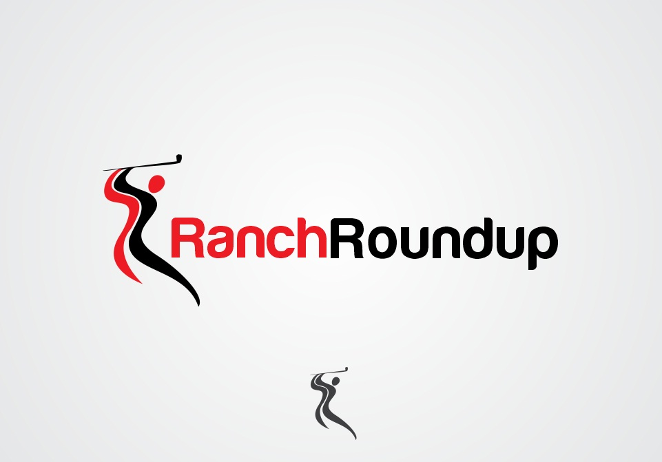 Logo Design by Rizwan Saeed - Entry No. 8 in the Logo Design Contest Captivating Logo Design for Ranch Roundup.