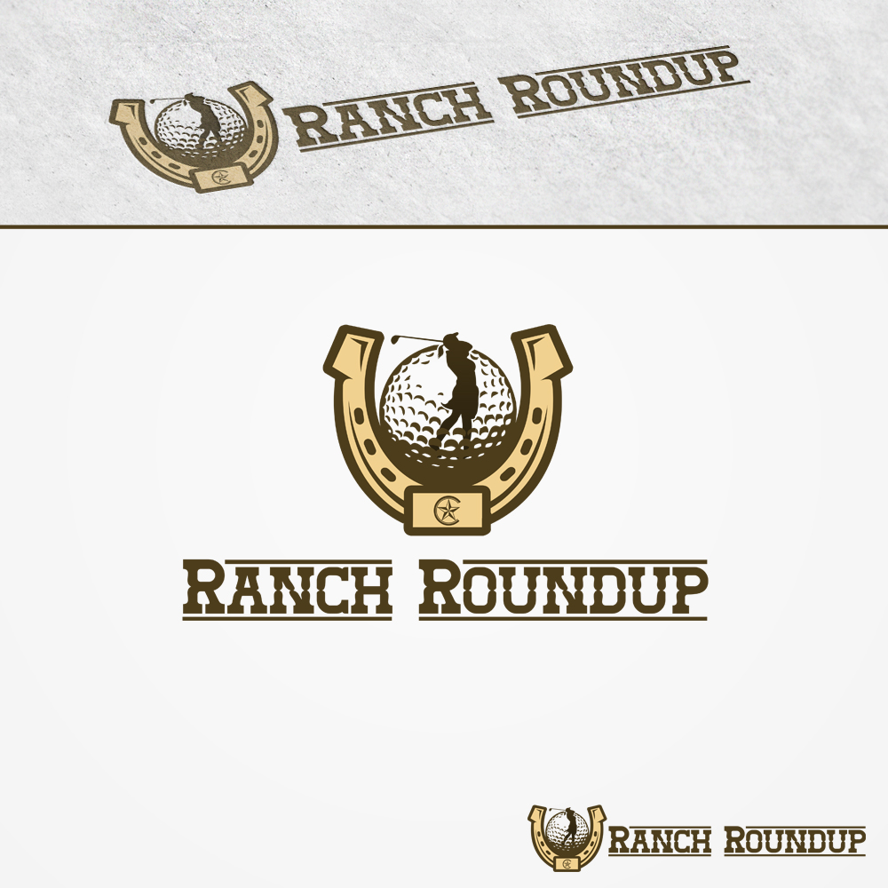 Logo Design by omARTist - Entry No. 9 in the Logo Design Contest Captivating Logo Design for Ranch Roundup.