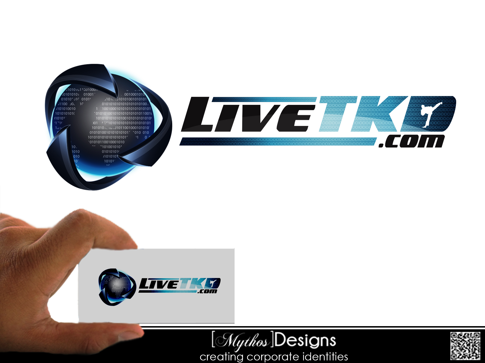 Logo Design by Mythos Designs - Entry No. 46 in the Logo Design Contest New Logo Design for LiveTKD.com.