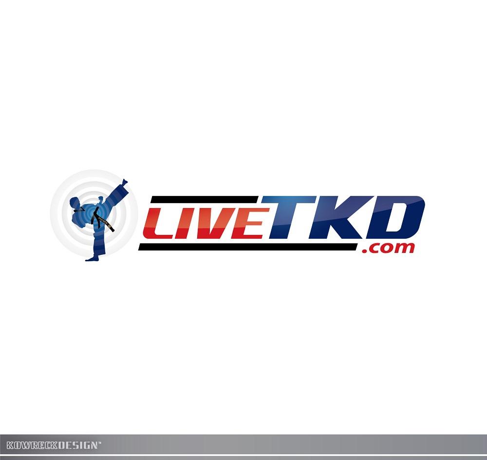Logo Design by kowreck - Entry No. 48 in the Logo Design Contest New Logo Design for LiveTKD.com.