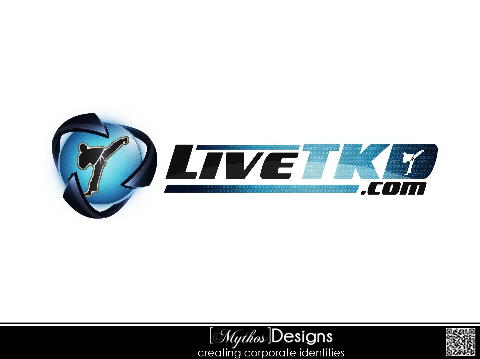 Logo Design by Mythos Designs - Entry No. 54 in the Logo Design Contest New Logo Design for LiveTKD.com.