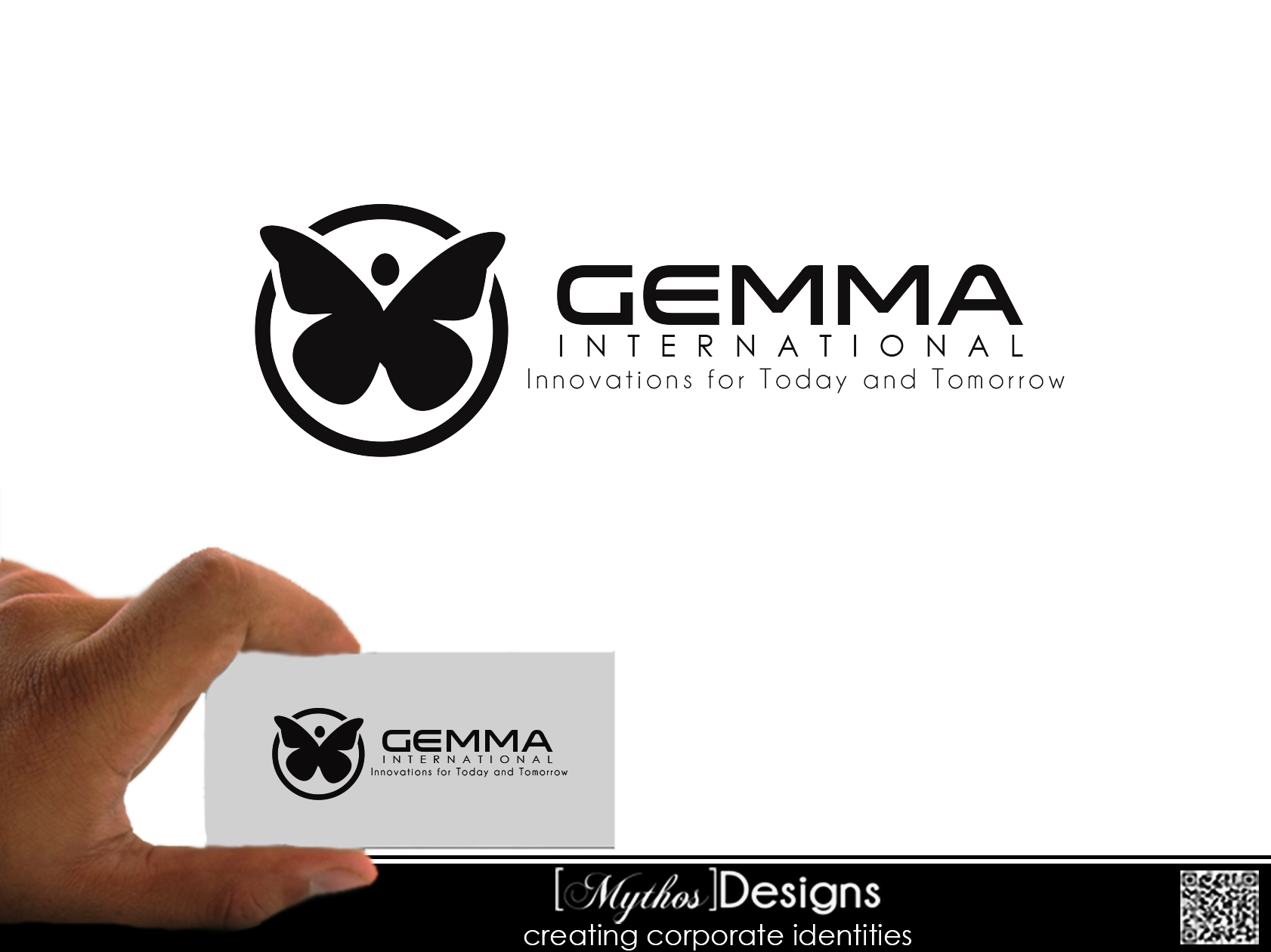Logo Design by Mythos Designs - Entry No. 48 in the Logo Design Contest Artistic Logo Design for Gemma International.