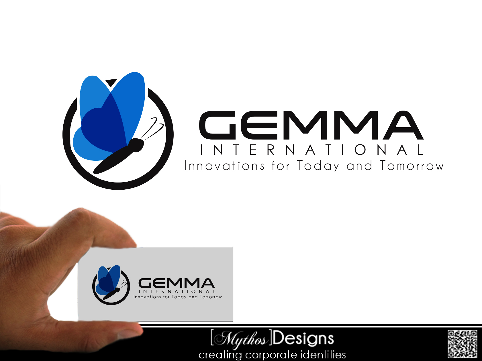 Logo Design by Mythos Designs - Entry No. 49 in the Logo Design Contest Artistic Logo Design for Gemma International.