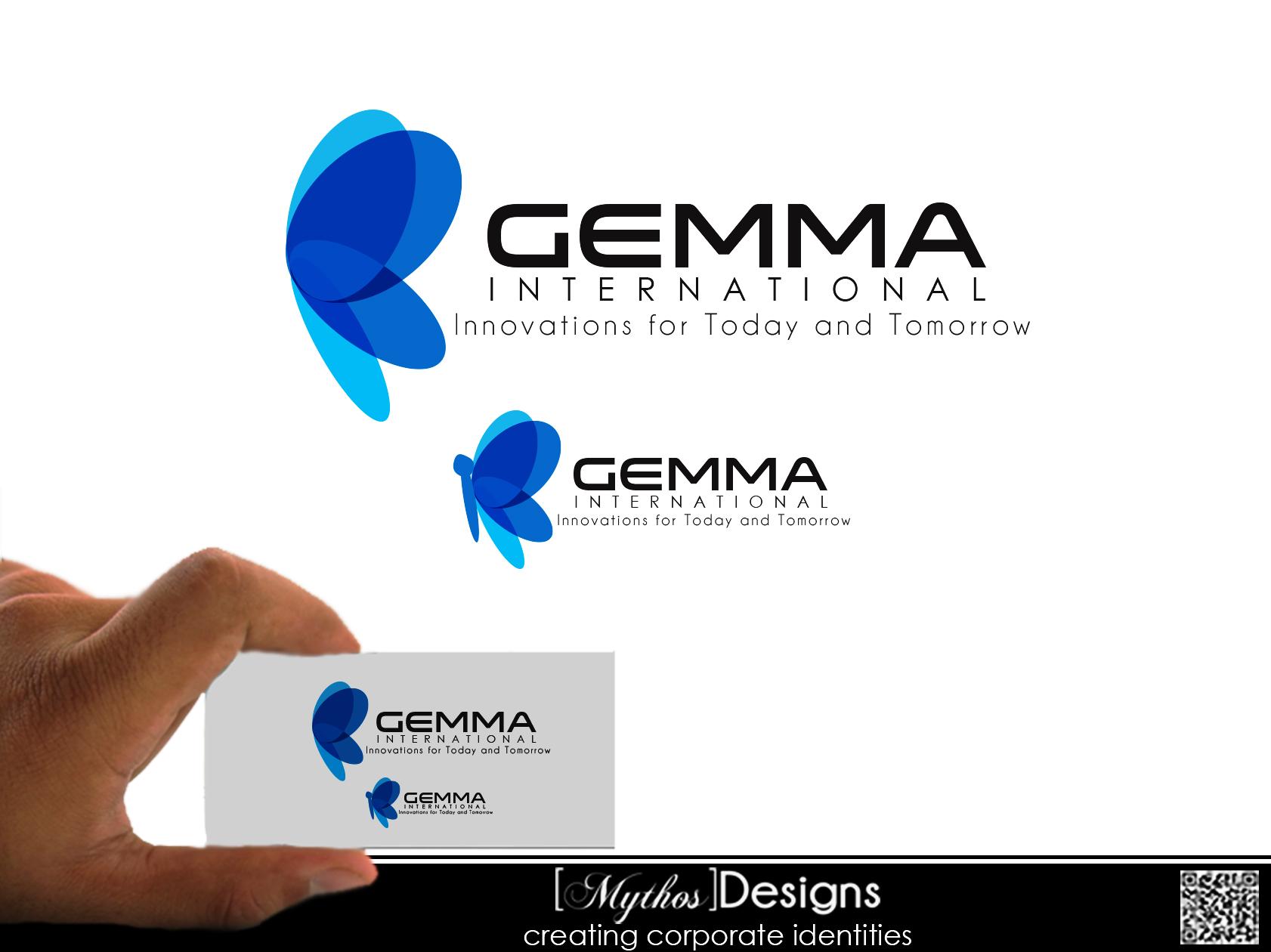Logo Design by Mythos Designs - Entry No. 50 in the Logo Design Contest Artistic Logo Design for Gemma International.