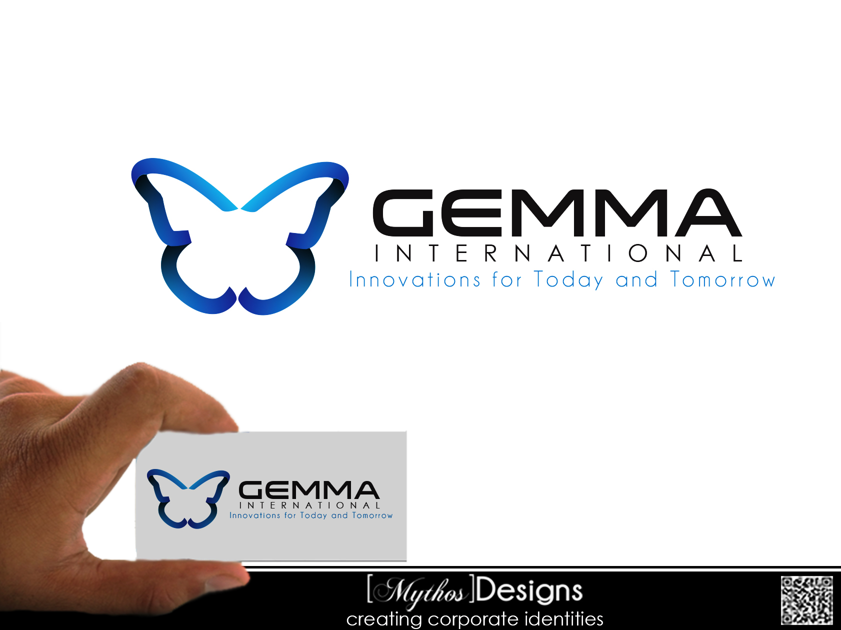 Logo Design by Mythos Designs - Entry No. 51 in the Logo Design Contest Artistic Logo Design for Gemma International.