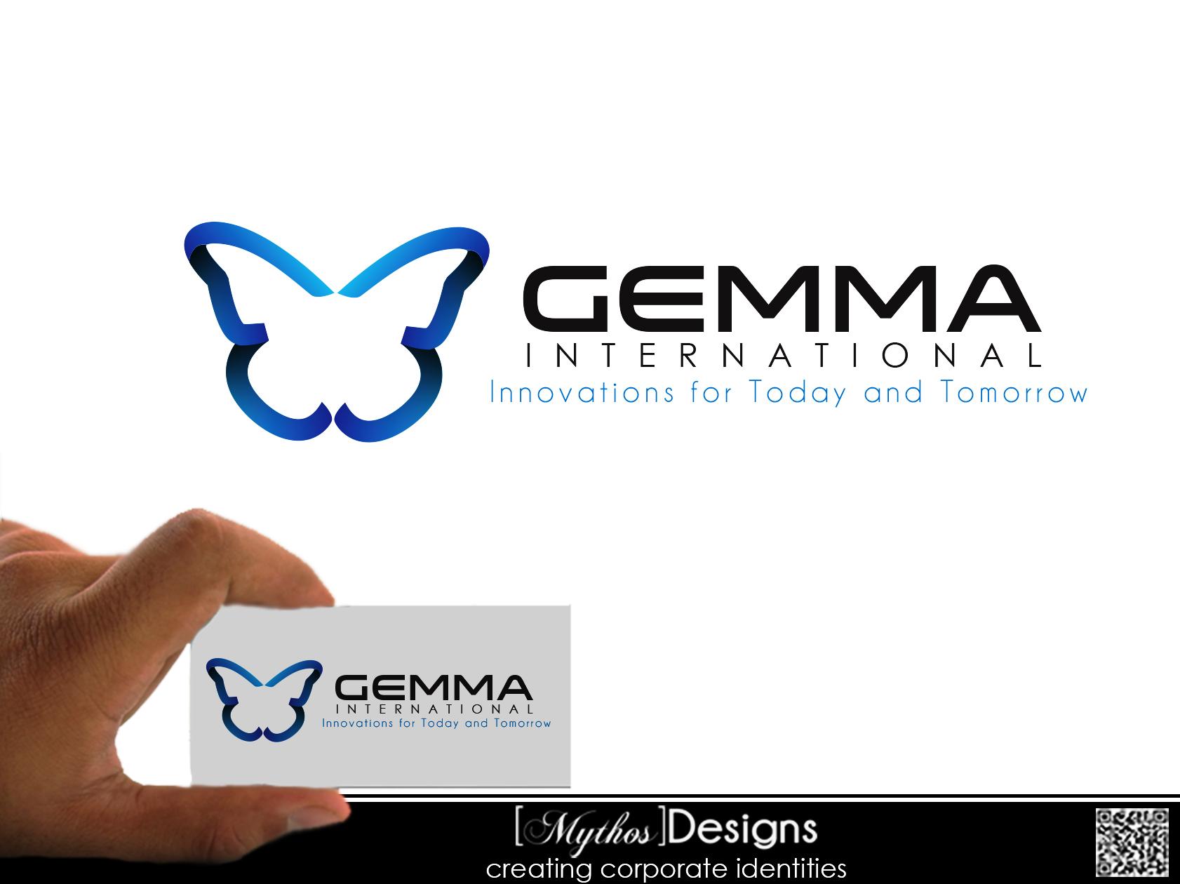 Logo Design by Mythos Designs - Entry No. 51 in the Logo Design Contest Artistic Logo Design for Gemma International.