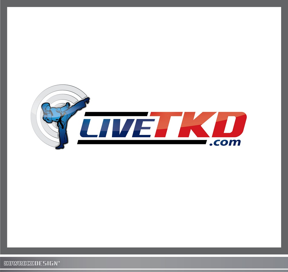 Logo Design by kowreck - Entry No. 60 in the Logo Design Contest New Logo Design for LiveTKD.com.