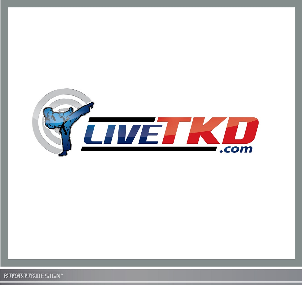 Logo Design by kowreck - Entry No. 61 in the Logo Design Contest New Logo Design for LiveTKD.com.