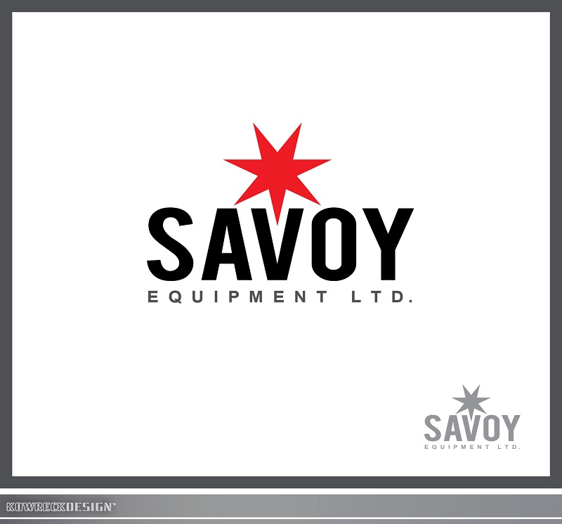 Logo Design by kowreck - Entry No. 11 in the Logo Design Contest Inspiring Logo Design for Savoy Equipment Ltd..