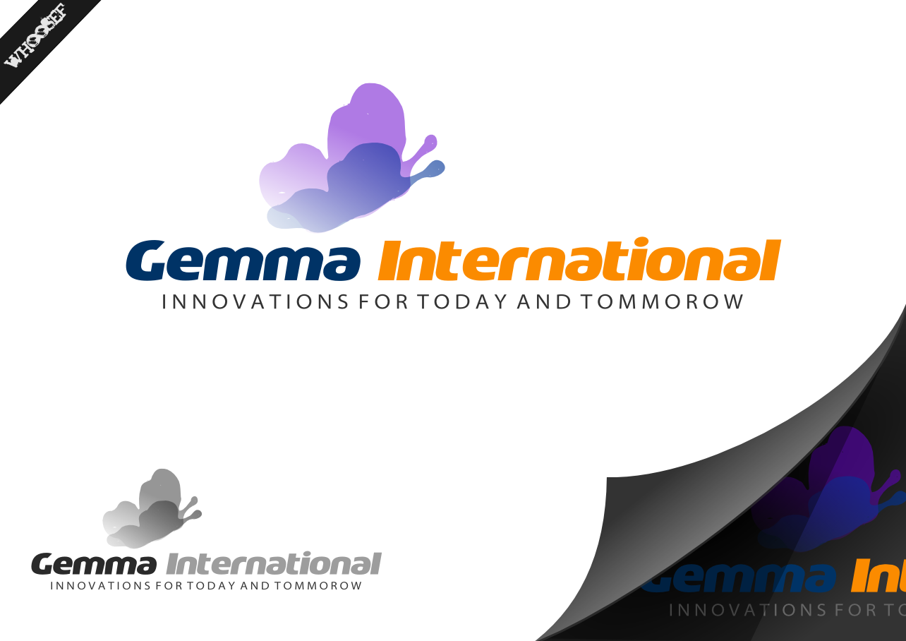 Logo Design by whoosef - Entry No. 53 in the Logo Design Contest Artistic Logo Design for Gemma International.
