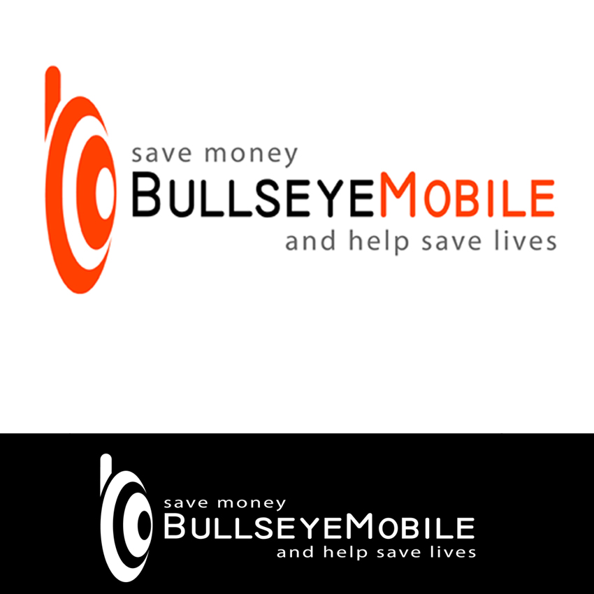 Logo Design by Dragomar - Entry No. 76 in the Logo Design Contest Bullseye Mobile.