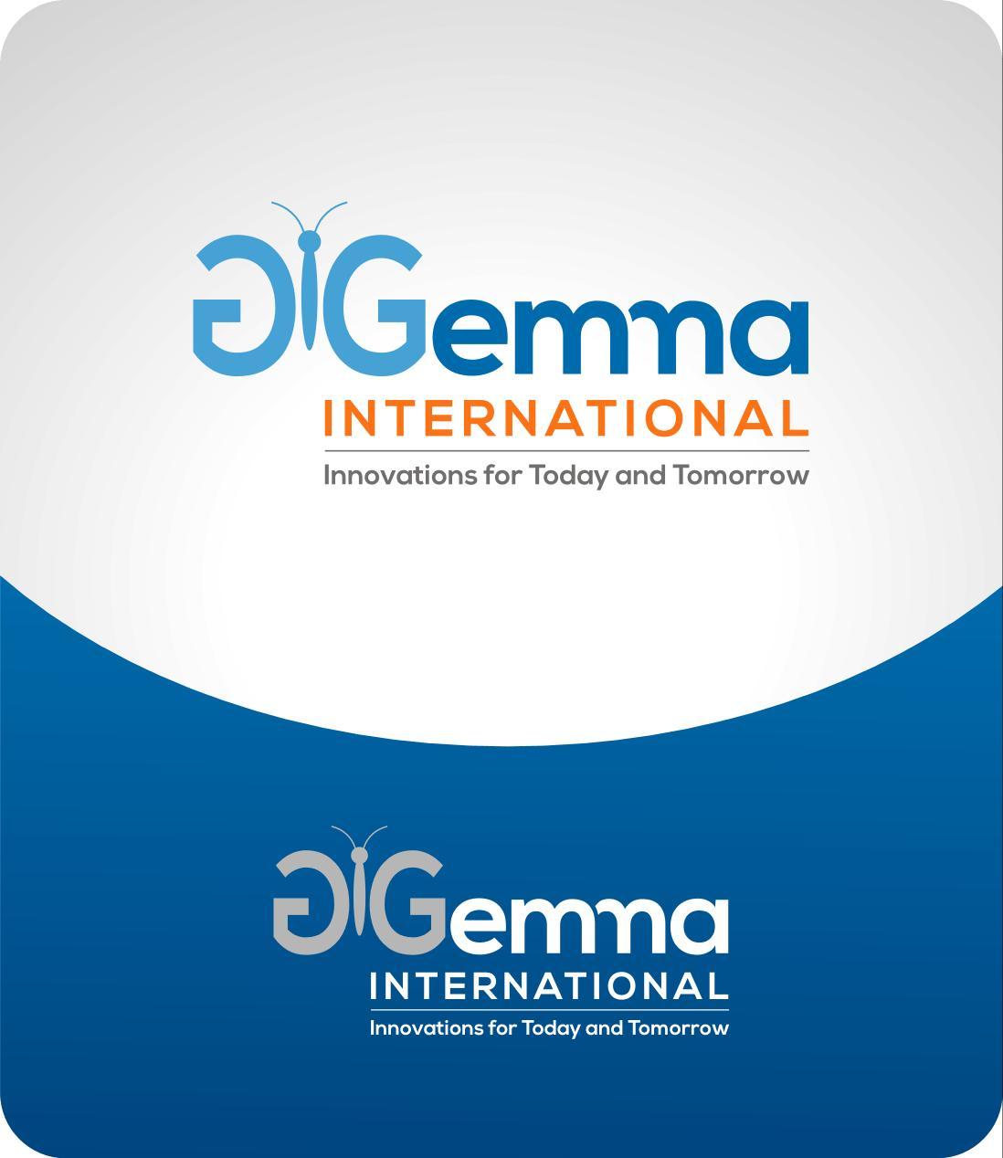 Logo Design by luvrenz - Entry No. 56 in the Logo Design Contest Artistic Logo Design for Gemma International.