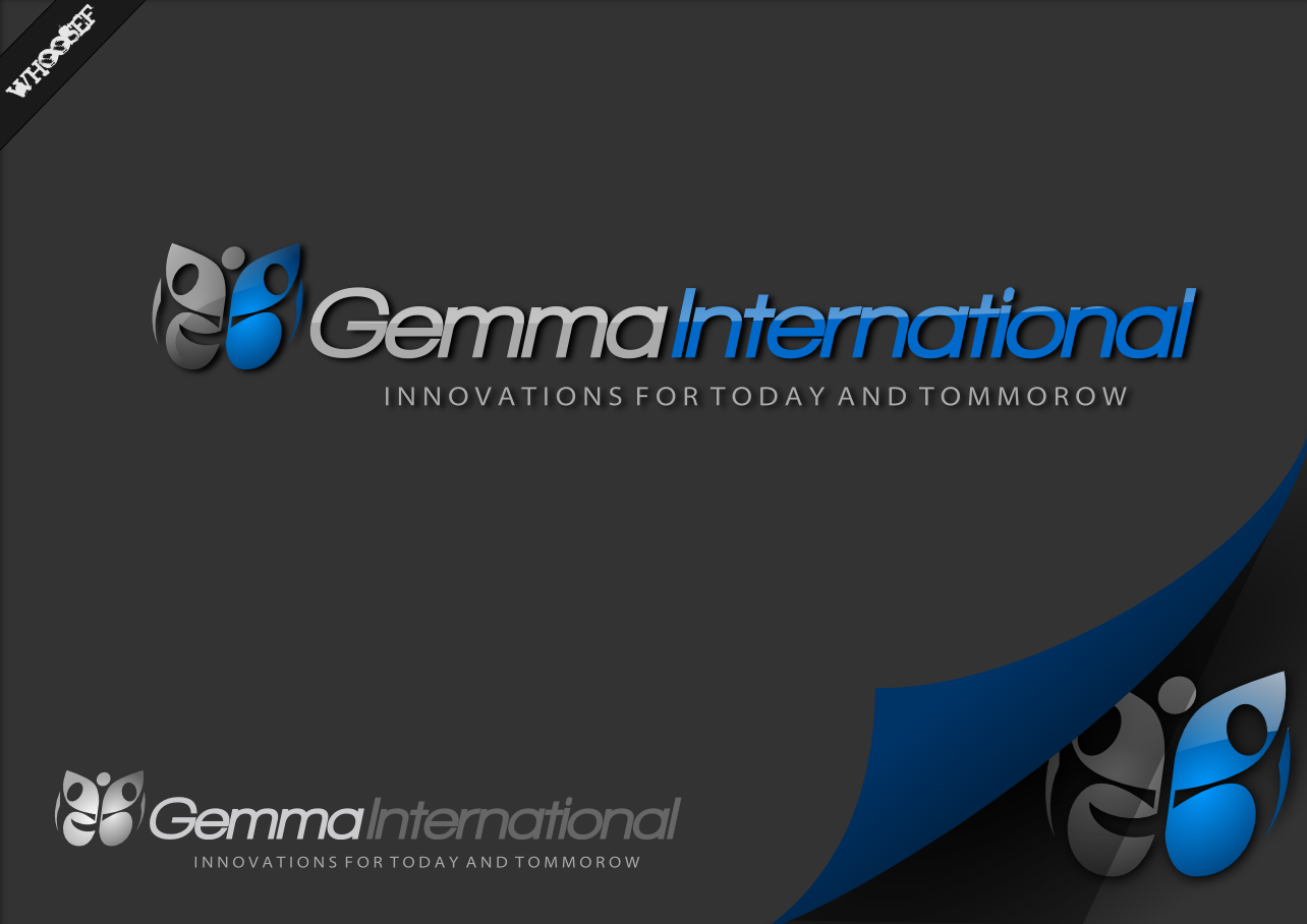 Logo Design by whoosef - Entry No. 57 in the Logo Design Contest Artistic Logo Design for Gemma International.