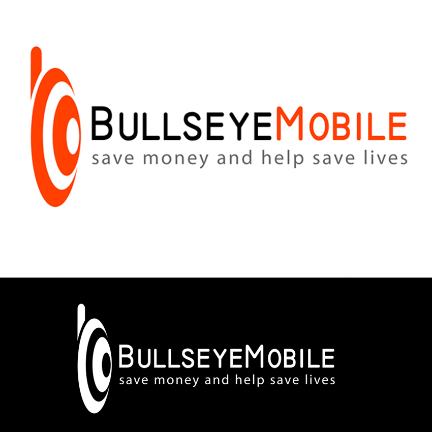 Logo Design by Dragomar - Entry No. 77 in the Logo Design Contest Bullseye Mobile.